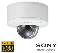 Denní a noční test IP kamery SONY SNC-EM632R - Full HD rozlišení, WDR, automatické ostření, IR přísvit na 30 metrů, IP66 a IK10