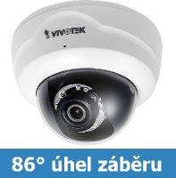 Denní a noční test IP kamery VIVOTEK FD8137H F3 - HD rozlišení, WDR, IR přísvit, nízká cena