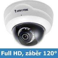 Denní a noční test IP kamery VIVOTEK FD8164 F2 - Full HD rozlišení, 120° úhel záběru, IR přísvit, nízká pořizovací cena