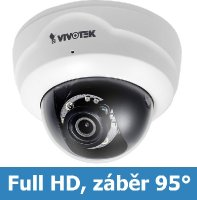 Denní a noční test IP kamery VIVOTEK FD8164 F3 - Full HD rozlišení, 95° úhel záběru, IR přísvit, nízká pořizovací cena