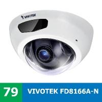 Denní a noční test IP kamery VIVOTEK FD8166A-N - vylepšená designovka