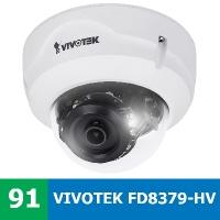 Denní a noční test IP kamery VIVOTEK FD8379-HV - 4MPx rozlišení s úhlem zábvěru 114° a WDR Pro