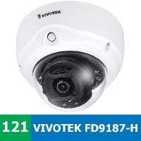 Denní a noční test IP kamery VIVOTEK FD9187-H - nově a lépe