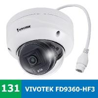 Denní a noční test IP kamery VIVOTEK FD9360-HF3 ve vnitřním prostředí