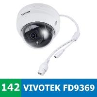 Denní a noční test IP kamery VIVOTEK FD9369 ve venkovním prostředí