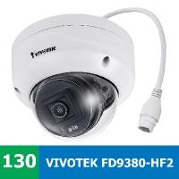 Denní a noční test IP kamery VIVOTEK FD9380-HF2 ve venkovním prostředí