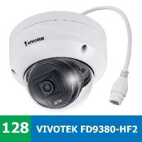 Denní a noční test IP kamery VIVOTEK FD9380-HF2 ve vnitřním prostředí