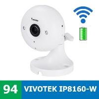 Denní a noční test IP kamery VIVOTEK IP8160-W - mini IP kamera s wifi a na baterky