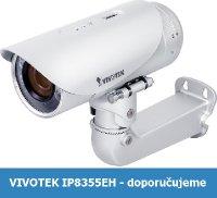 Denní a noční test IP kamery VIVOTEK IP8355EH - 1,3Mpx rozlišení, automatické ostření, vysoká kvalita obrazu