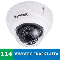 Denní a noční test venkovní IP kamery VIVOTEK FD9367-HTV - zlatá střední profesionální cesta