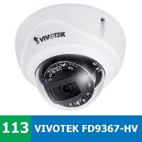 Denní a noční test venkovní IP kamery VIVOTEK FD9367-HV