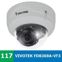 Denní a noční test VIVOTEK FD8369A-V F3 ve venkovním prostředí