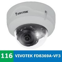 Denní a noční test VIVOTEK FD8369A-V F3 ve vnitřním prostřední