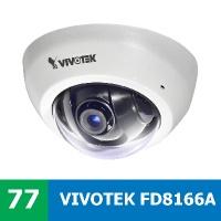 Denní test IP kamery VIVOTEK FD8166A - facelift FD8166 F2 s jedním objektivem