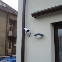 Instalace IP kamer na rodinné domy a chaty