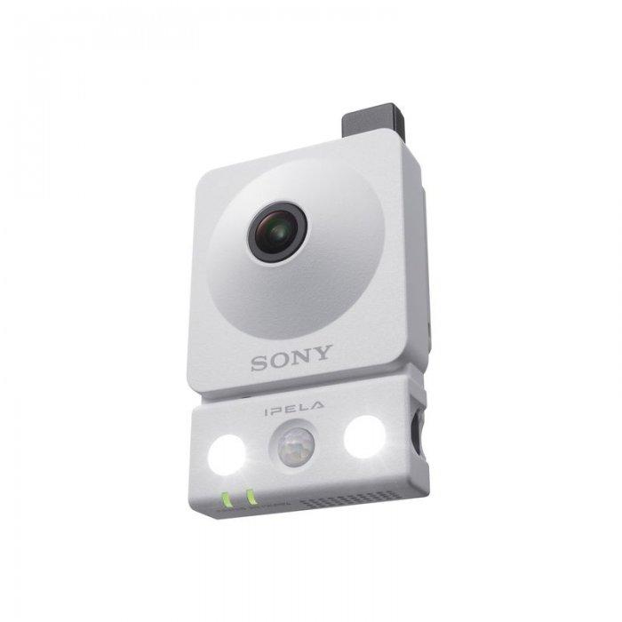 SONY SNC-CX600W ukazka prisvitu