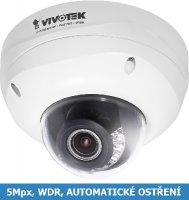 Test IP kamery VIVOTEK FD8372 - první 5Mpx s automatickým ostřením