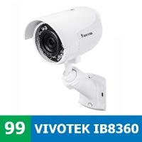 Test IP kamery VIVOTEK IB8360 ve vnitřním prostředí