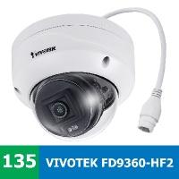 Test venkovní IP kamery VIVOTEK FD9360-HF2 ve venkovním prostředí