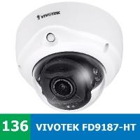 Test vnitřní IP kamery VIVOTEK FD9187-HT