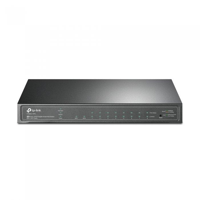 PoE switch TP-LINK T1500G-10PS přední strana