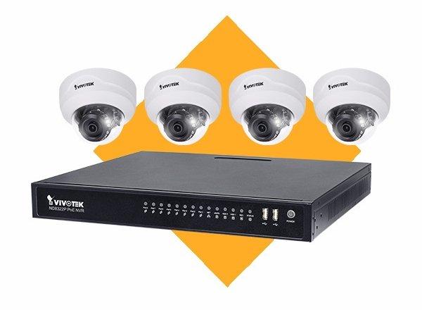 Venkovní IP kamerový systém VIVOTEK 4x FD8369A-V