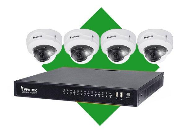 Venkovní IP kamerový systém VIVOTEK 4x FD8379-HV