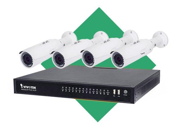 Venkovní IP kamerový systém VIVOTEK 4x IB8379-H