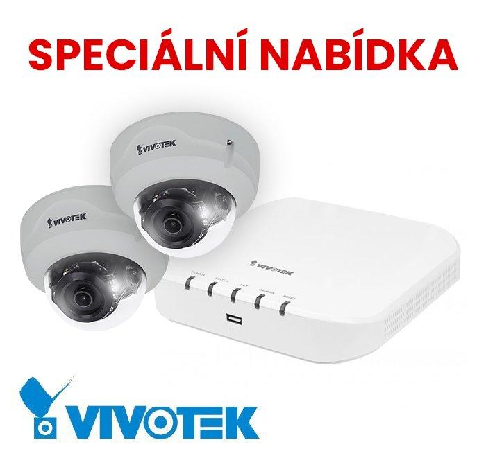 VIVOTEK FD8369A-V GREY + ND8312 speciální nabídka