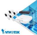 Venkovní kamerový systém VIVOTEK 4x IB8360 + ND8312