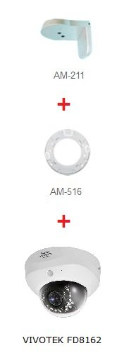 VIVOTEK AM-516 ukazka instalace