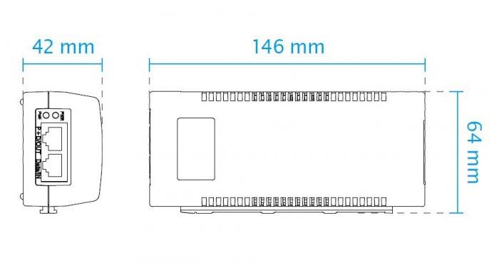 VIVOTEK AP-FIC-010A-015 rozměry