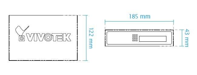 VIVOTEK AW-FET-050A-065 rozměry
