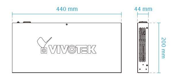 VIVOTEK AW-FET-160A-250 rozměry