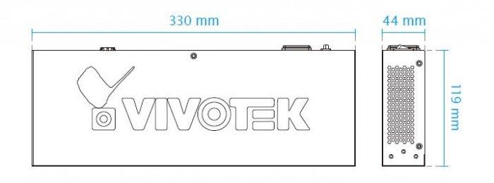 VIVOTEK AW-FGT-100A-120 rozměry