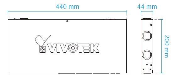VIVOTEK AW-FGT-260A-250 rozměry