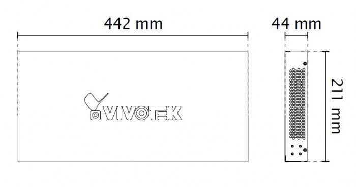 VIVOTEK AW-GEV-264A-185 rozměry