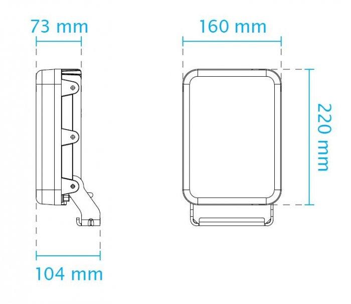 VIVOTEK CM48I8-1040 rozměry