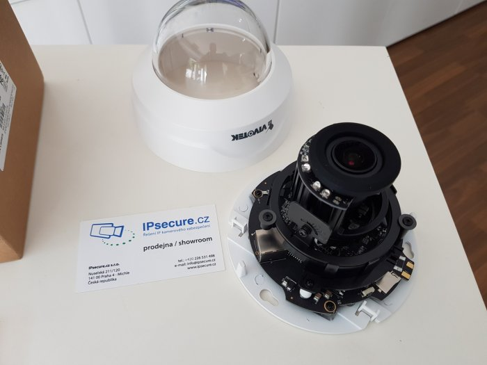 Vnitřní IP kamera VIVOTEK FD8167A balení