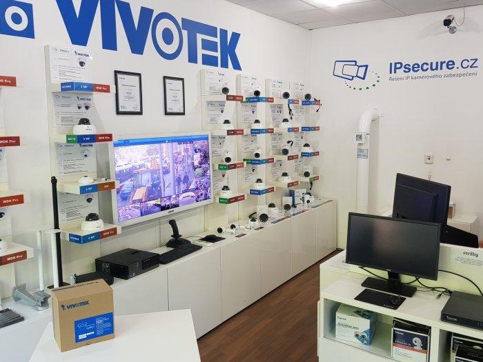 Vnitřní IP kamera VIVOTEK FD8182-T balení
