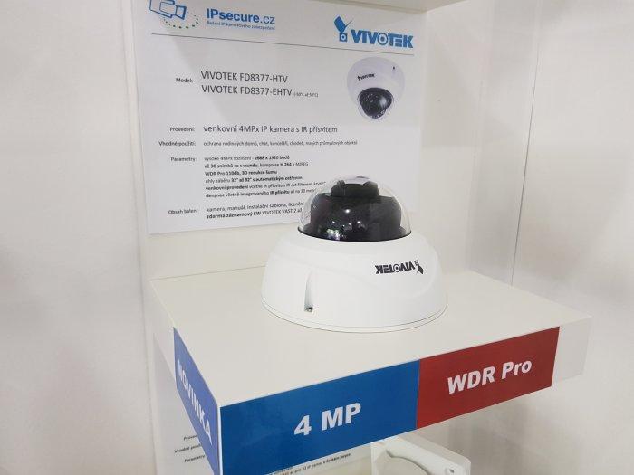 Venkovní IP kamera VIVOTEK FD8377-HTV na prodejně