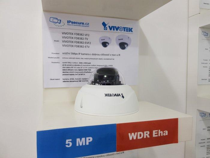 Venkonví IP kamera VIVOTEK FD8382-VF2 na prodejně