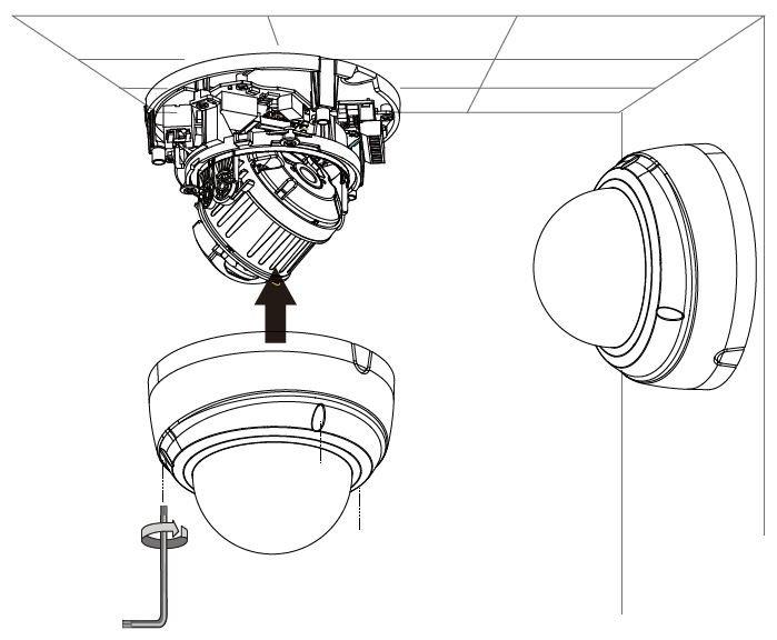 IP kamera VIVOTEK FD9165-HT instalace