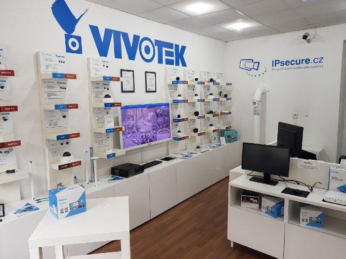 Vnitřní IP kamera VIVOTEK FD9187-HT showroom VIVOTEK