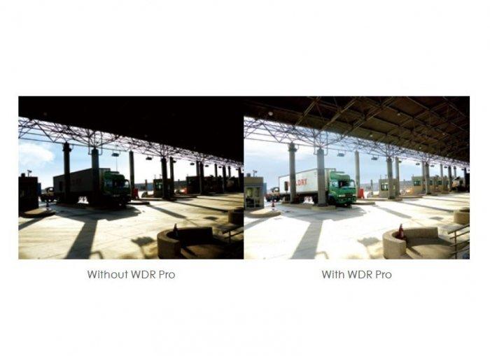 Venkovní IP kamera VIVOTEK FD9367-HV ukázka WDR Pro