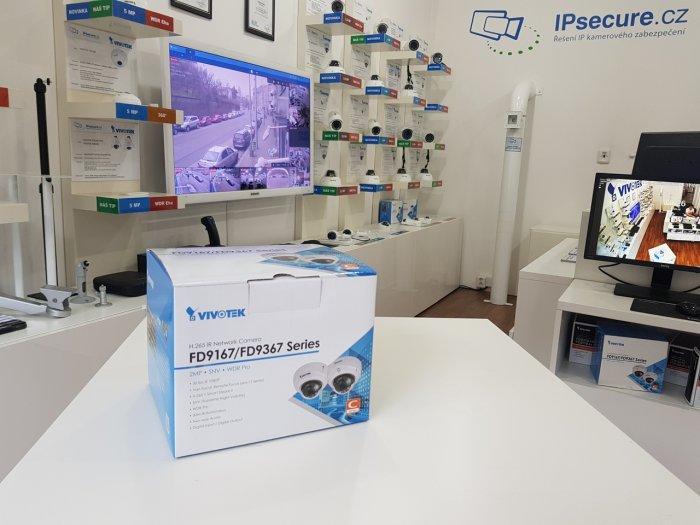 Venkovní IP kamera VIVOTEK FD9367-HV balení