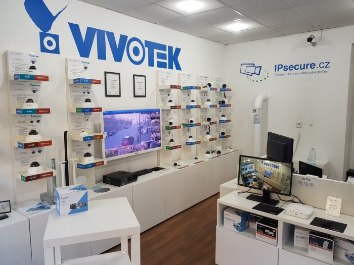 Venkovní IP kamera VIVOTEK FD9387-HV showroom