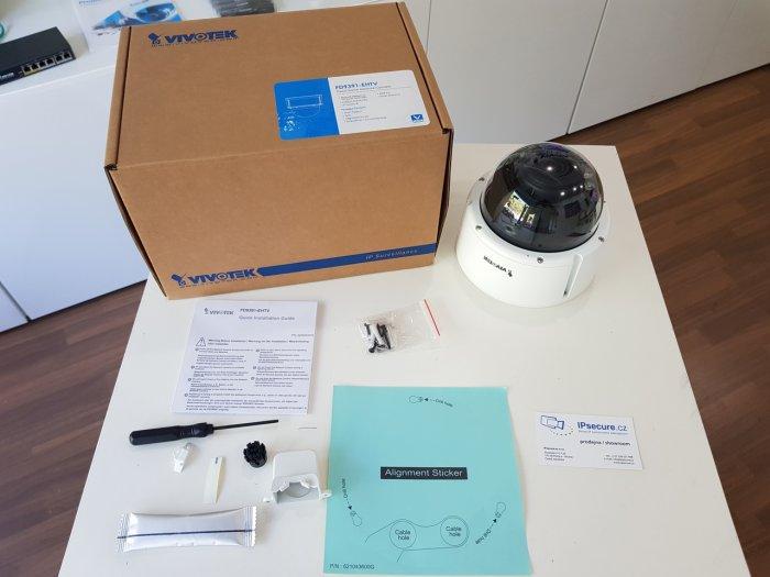 Venkovní IP kamera VIVOTEK FD9391-EHTV balení