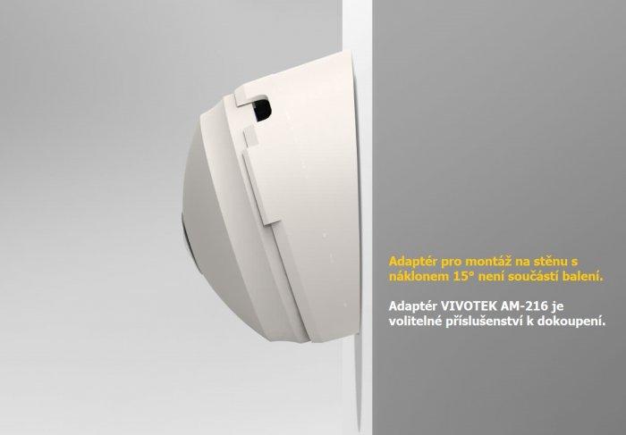 Vnitřní IP kamera VIVOTEK FE8180 s AM-216