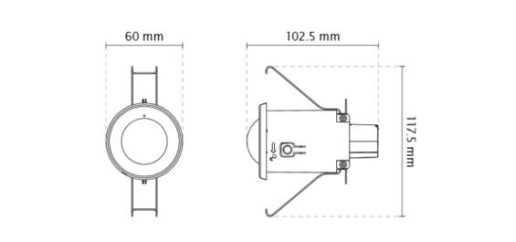 VIVOTEK FE8182 rozměry